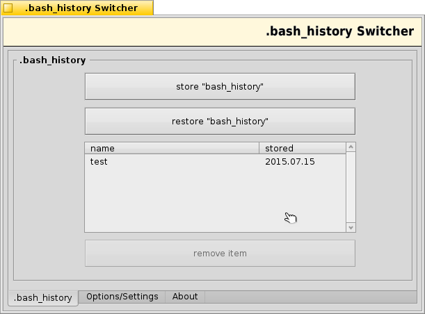 A program to manage bash_Histories