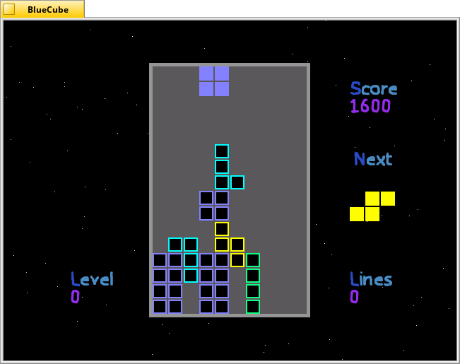 just another simple Tetris clone