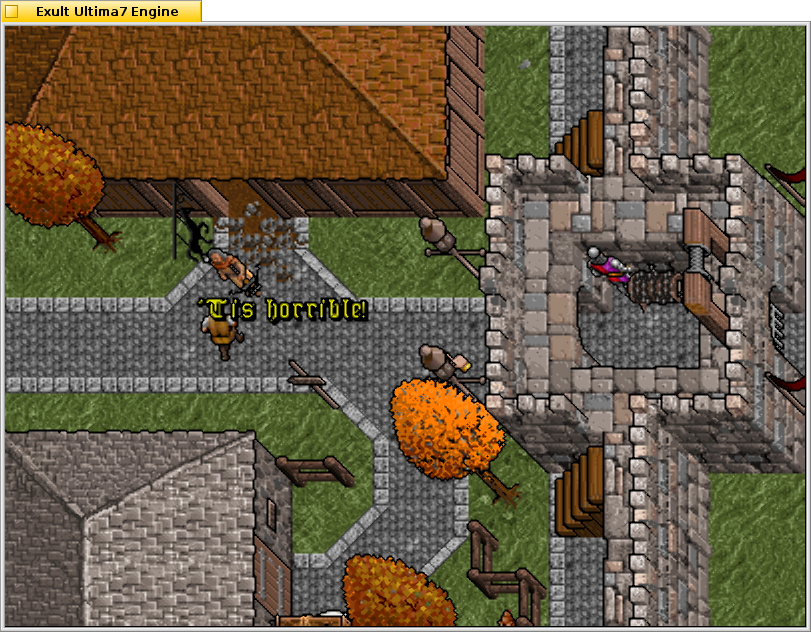 Exult is a project to recreate Ultima 7 for modern operating systems.