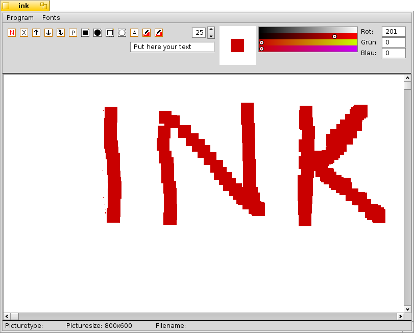 Little Paint programm