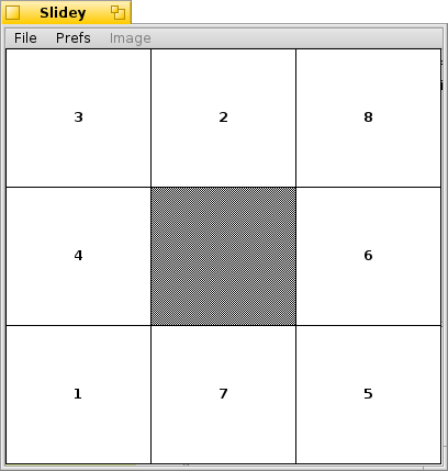 A simple puzzle game